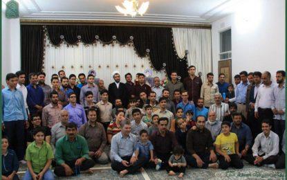 عکس یادگاری با حجت الاسلام شمس – رمضان [۱۳۹۶-۱۴۳۸]