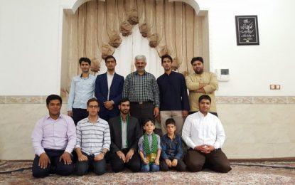 دیدار با سادات هیأت به مناسبت عید سعید غدیر